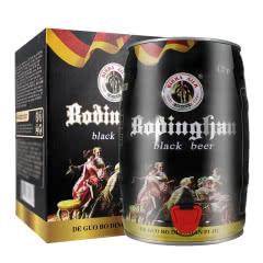 【德国风味】精酿啤酒 5L桶装黑啤 礼盒装 麦芽焦香 原浆精酿 畅饮桶5000ml
