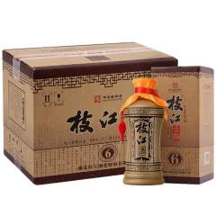 42°枝江白酒 古酒6 酒水礼盒 粮食酒 500ml*6瓶 整箱装