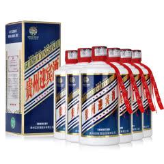 53°贵州迎宾酒(五星)带杯酱香型白酒礼盒装收藏送礼53度高度白酒整箱500ml*6