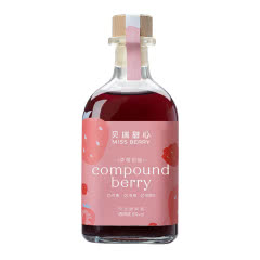 8°贝瑞甜心MISS BERRY·草莓树莓果酒300ml