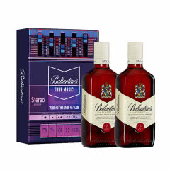 百龄坛醇真音乐特醇双瓶礼盒+40°英国百龄坛特醇苏格兰威士忌500ml*2