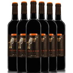黄尾袋鼠红酒 澳洲进口红酒整箱 黄尾袋鼠珍藏系列葡萄酒750ML*6 黄尾袋鼠珍藏梅洛