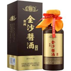 53度 贵州金沙回沙酒 酱酒六星 酱香型白酒 500ml*单瓶