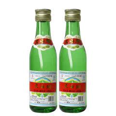 50度太白酒绿瓶普太(2013年)100ml*2瓶