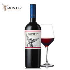 智利进口蒙特斯经典系列梅洛红葡萄酒750ML单支装