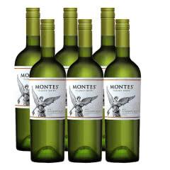 智利进口蒙特斯经典系列长相思干白葡萄酒750ML*6支装
