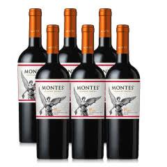 智利进口红酒蒙特斯经典系列马尔贝克红葡萄酒750ML*6支装