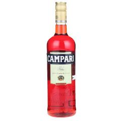 金巴利 Campari 苦味利口酒 力娇酒 意大利原瓶进口洋酒 金巴利苦艾酒750ml