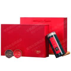 一罐茶武夷大红袍正岩肉桂茶叶礼盒装绿罐多泡装