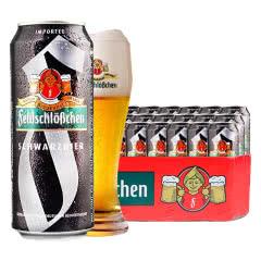 德国进口啤酒费尔德堡大麦黑啤酒500ml(18听装)