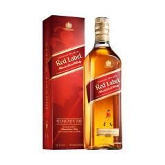 40°英国尊尼获加红牌红方苏格兰威士忌700ml*1瓶