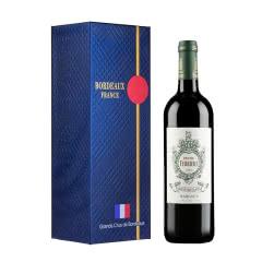 法国1855波尔多三级名庄酒 费里埃酒庄干红葡萄酒 法国进口红酒750ml 2015年