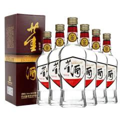 董酒老八大白酒复刻系列 白标董酒 54度 500ml*6整箱装董香型 贵州 纯粮食高度白酒