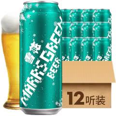 雪花啤酒(Snowbeer)8°马尔斯绿500mL(12听装)