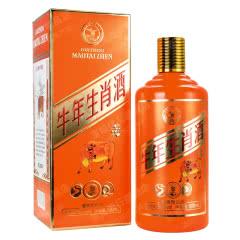 53°贵州 牛年生肖酒纪念版酱香型白酒500ml*1单瓶
