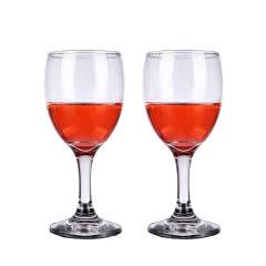 红酒杯套装欧式玻璃杯高脚杯葡萄酒杯2只装酒具家用