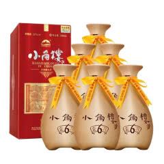 52°小角楼金鑫6 浓香型白酒礼盒装500ml*6【整箱】特惠