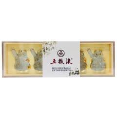 52°五粮液 熊猫酒 浓香型白酒 50ml*5瓶礼盒装