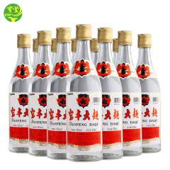 宝丰清香50度大曲500ml*12瓶装 纯粮固态酿造口粮白酒