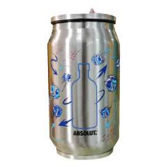 绝对伏特加不锈钢水杯