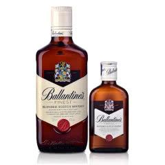 40°英国百龄坛特醇苏格兰威士忌500ml+200ml