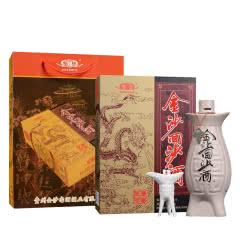 53°贵州金沙回沙鱼儿酒酱香型500ml单瓶
