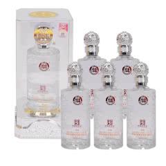 52°浓香型 白水杜康 典藏(亚克力盒)白酒500ml*6瓶整箱装