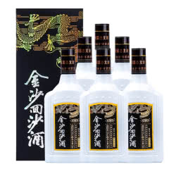 53°贵州金沙回沙钻石五星酱香型500ml(6瓶)