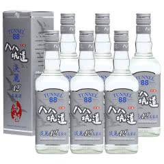 【2017年份】42°台湾八八坑道高粱酒马祖淡丽台湾纯粮食清香型白酒600ml(6瓶装)