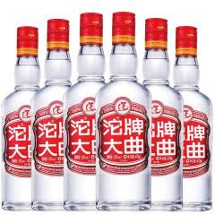 沱牌酒沱牌大曲50度浓香型白酒 475ml*6瓶简装光瓶