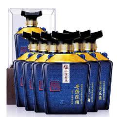 【整箱】52°西凤酒 陈酒尊悦 500ml*6瓶 浓香型白酒 礼盒装白酒 送礼 粮食酒