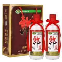 53°郎牌郎酒 普郎 酱香型白酒 500ml*2瓶装