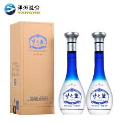 52° 洋河 蓝色经典 梦之蓝M1 500ml*2瓶装 浓香型